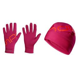 PACK INTENSITY Bonnet léger & Gants de Sport Odlo Mixte