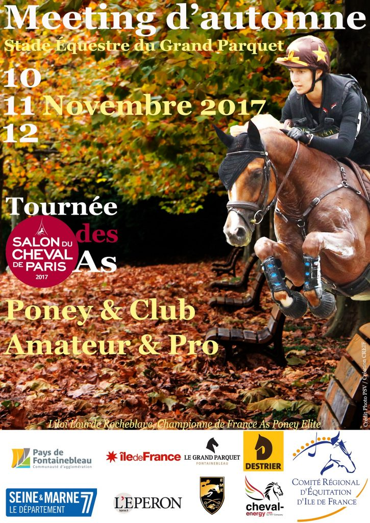 Meeting d'automne grand parquet Fontainebleau CREIF